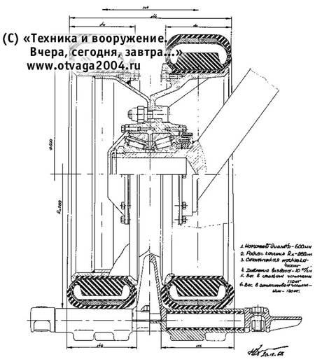 «Объект 021» - ходовой макет перспективного танка KzxAD